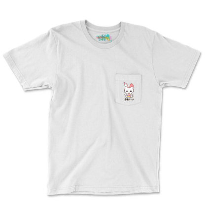 Cute Kitten Happy Pocket T-shirt Designed By Romeo And Juliet
