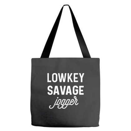Lowkey Savage Jogger Tote Bags Designed By Joe Art