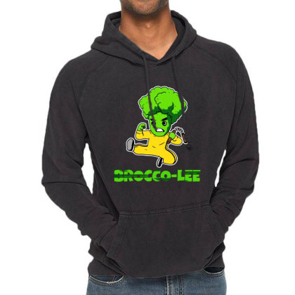 Lustiges Kung Fu Karate Broccoli Vintage Hoodie Designed By Suettan