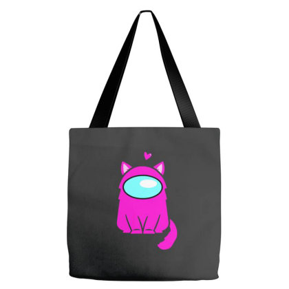 Cute Cat Astronaut Tote Bags Designed By Romeo And Juliet
