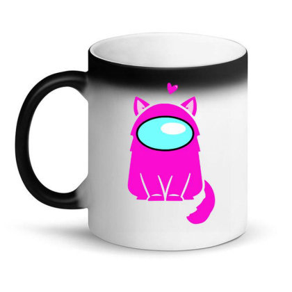 Cute Cat Astronaut Magic Mug Designed By Romeo And Juliet