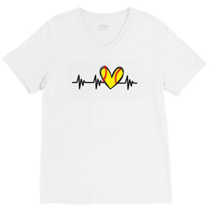 Cute Design For Women V-neck Tee Designed By Romeo And Juliet