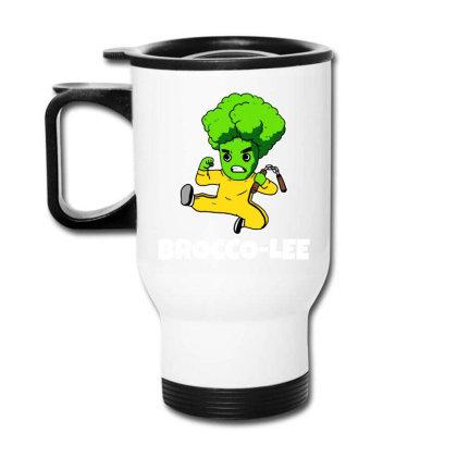 Lustiges Kung Fu Karate Broccoli Travel Mug Designed By Suettan