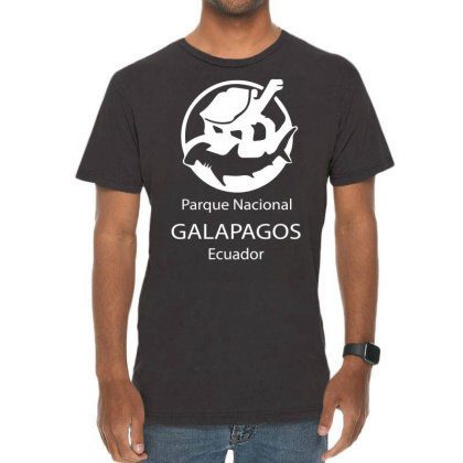 Galapagos Islands Vintage T-shirt Designed By Wanzinx