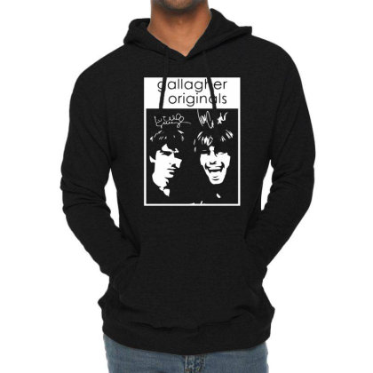 Gallagher Brothers Lightweight Hoodie Designed By Wanzinx