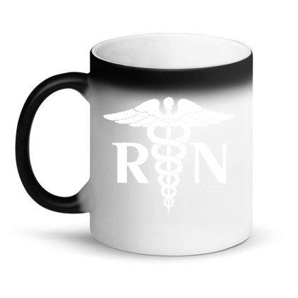 Lovely Rn Registered Nurse Tie Magic Mug Designed By Joe Art