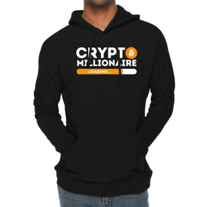 Crypto Millionaire Loading Lightweight Hoodie Designed By Romeo And Juliet