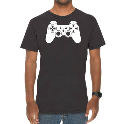 Game Controller, Ideal Gift Or Birthday Present. Vintage T-shirt Designed By Wanzinx