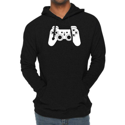 Game Controller, Ideal Gift Or Birthday Present. Lightweight Hoodie Designed By Wanzinx
