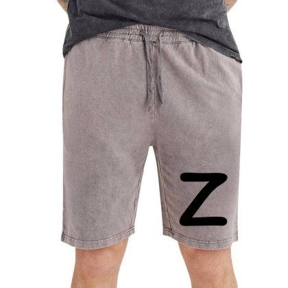 Letter Z Capital Alphabet Vintage Short Designed By Joe Art