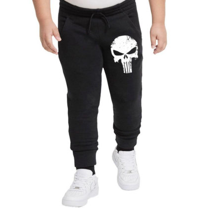 The Punisher Skull Youth Jogger Designed By Constan002