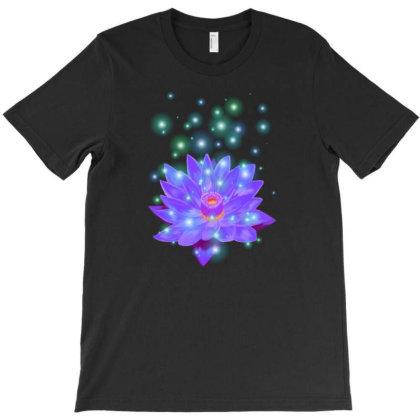 Lifestream Lotus T-shirt Designed By Cmdoodlez