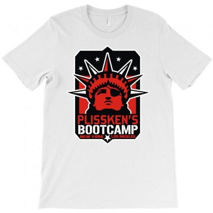 Plissken's Bootcamp T-shirt Designed By Mir Art