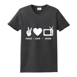 Peace Love Show Ladies Classic T-shirt Designed By Blackacturus
