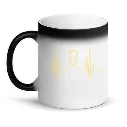 Electro Saiyan Heartbeat Magic Mug Designed By Koopshawneen