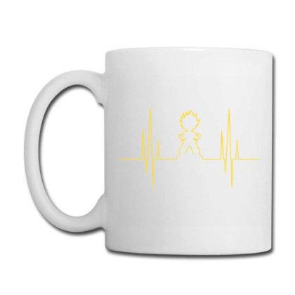 Electro Saiyan Heartbeat Coffee Mug Designed By Koopshawneen