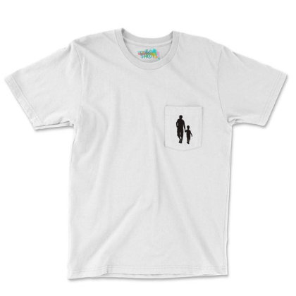 Father And Son Funny Family Pocket T-shirt Designed By Dony_store