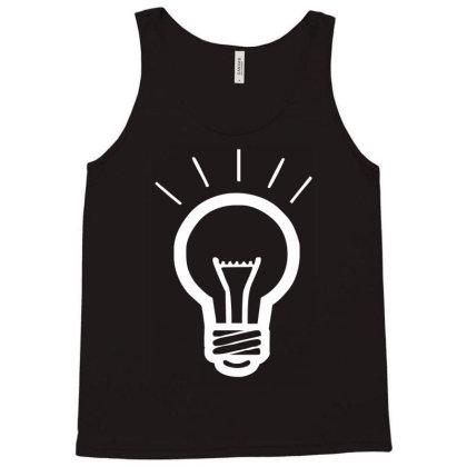 Light Bulb Funny Tank Top Designed By Wanzinx