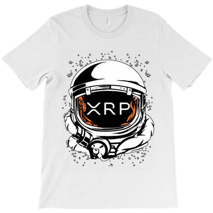 Coin Crypto Currency To The Moon T-shirt Designed By Joe Art