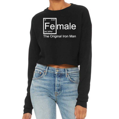 Women's Female The Original Cropped Sweater
