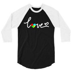 love awareness 3/4 Sleeve Shirt   Artistshot