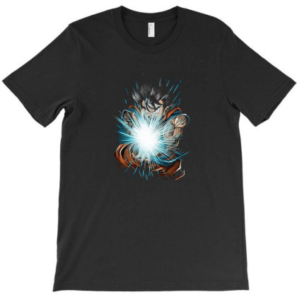 Great Wave Of Power T-shirt Designed By Michaels