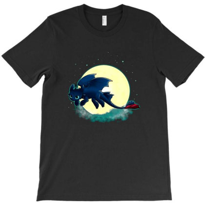 Goodnight Fury T-shirt Designed By Michaels