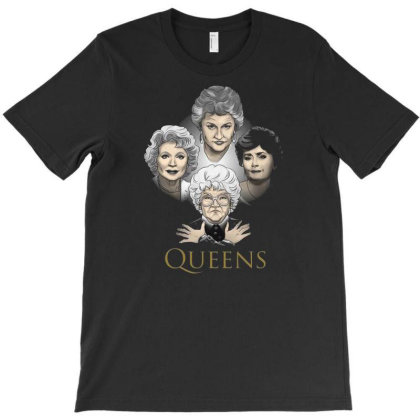 Golden Queens T-shirt Designed By Michaels