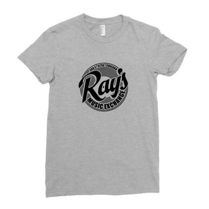 Ray's Music Exchange Ladies Fitted T-shirt Designed By Adi Rahmatun