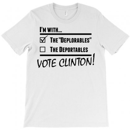 Hilary Clinton Deplorables T-shirt Designed By Sabriacar