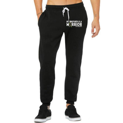 My Brother Is A Warrior Autism Unisex Jogger Designed By Brave Tees
