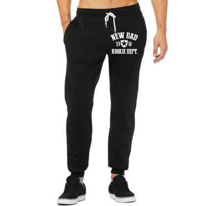 New Dad Rookie Department Unisex Jogger Designed By Wanzinx