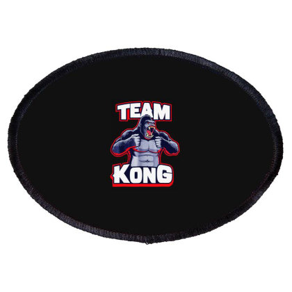 Team Kong Oval Patch Designed By Joe Art