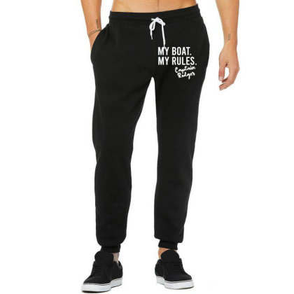 My Boat My Rules Unisex Jogger Designed By Kevin Design