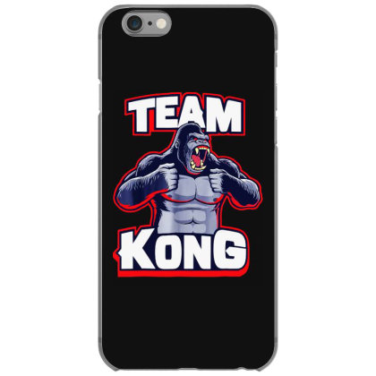 Team Kong Iphone 6/6s Case Designed By Joe Art