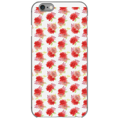 Red Rose Floral Arrangement Pattern Iphone 6/6s Case Designed By Visudylic Creations