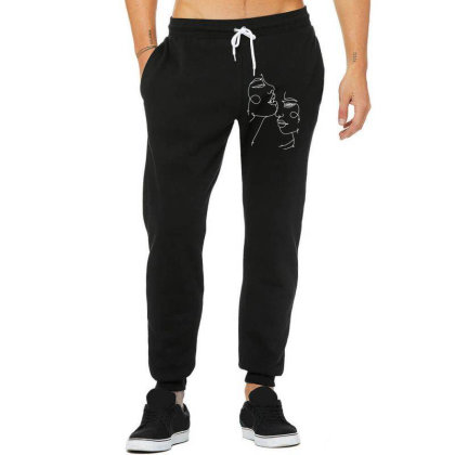 Minimalist Abstract Unisex Jogger Designed By Kevin Design