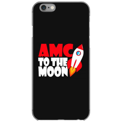 Amc To The Moon Iphone 6/6s Case Designed By Brave Tees
