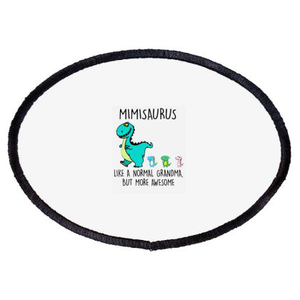 Mimisaurus Like A Normal Oval Patch Designed By Kevin Design
