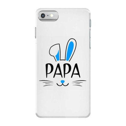 Mens Papa Bunny Gift Rabbit Iphone 7 Case Designed By Brave Tees