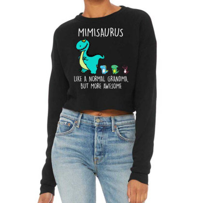 Mimisaurus Like A Normal Cropped Sweater Designed By Kevin Design