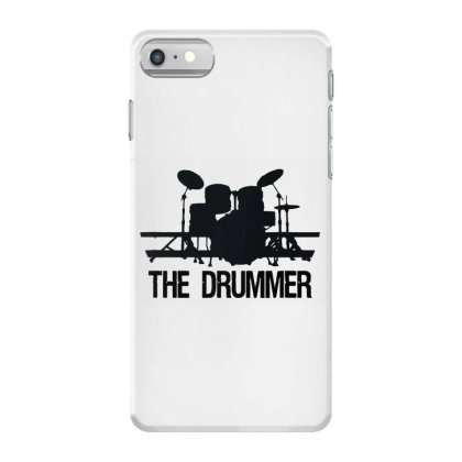 The Drummer Drumset Iphone 7 Case Designed By Joe Art