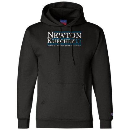 Newton Kuechly 17make Carolina Great Again Funny Champion Hoodie Designed By Wanzinx