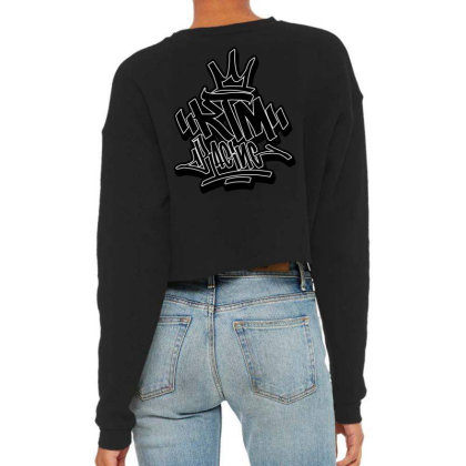 Ktm-r Cropped Sweater Designed By Tiococacola