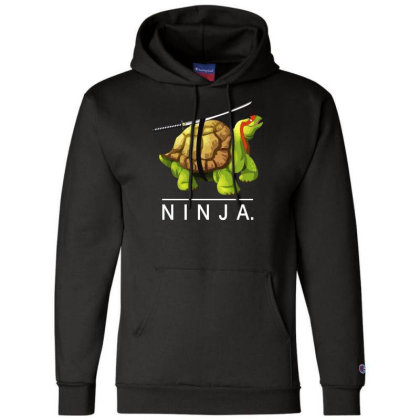 Ninja Tortoise Champion Hoodie Designed By Wanzinx