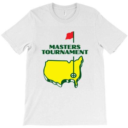Master Tournament Golf T-shirt Designed By Patrickgolf