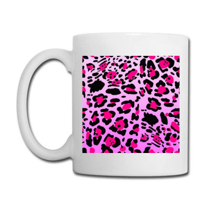 Bright Leopard  Pink Colofull Coffee Mug Designed By Mrt90