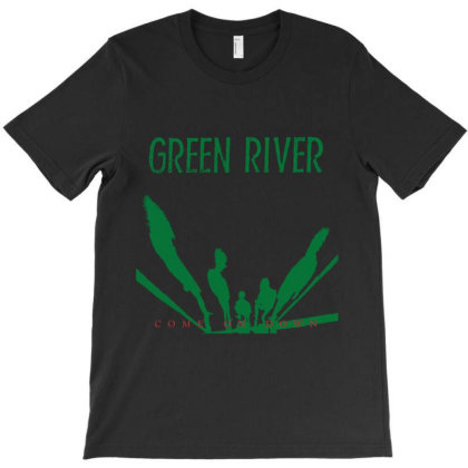 Green River Grunge American Band T-shirt Designed By Batree