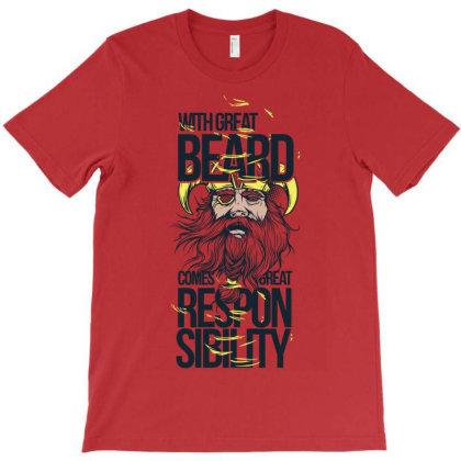 Beard Responsibility T-shirt Designed By Ivana-marko