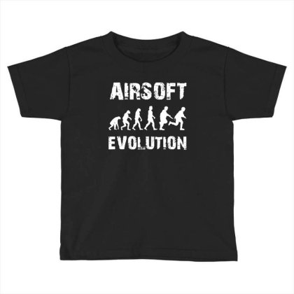Airsoft Softair Toddler T-shirt Designed By Kevin Design